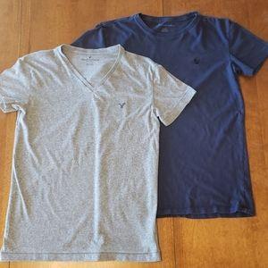 Bundle of 2 XS American Eagle short sleeve shirts